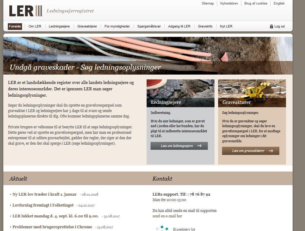 gravearbejde, entreprenør, entreprenørfirma, gravetilladelse